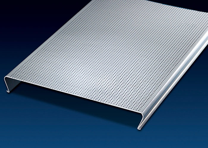 Fashionable  Aluminum Ceiling Tiles 150mm C-Shape  Excellent Extensibility On Visual Space