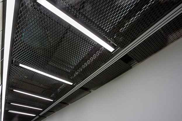 Office Room Hook On Ceiling System ,  Aluminium Ceiling Panel  Architectural Decoration